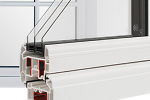 Rustique 3 The next step for PVC-u triple glazing